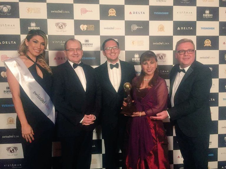 GANAMOS! #Aranwa Cusco best luxury boutique hotel #worldtravelawards @AranwaHotels