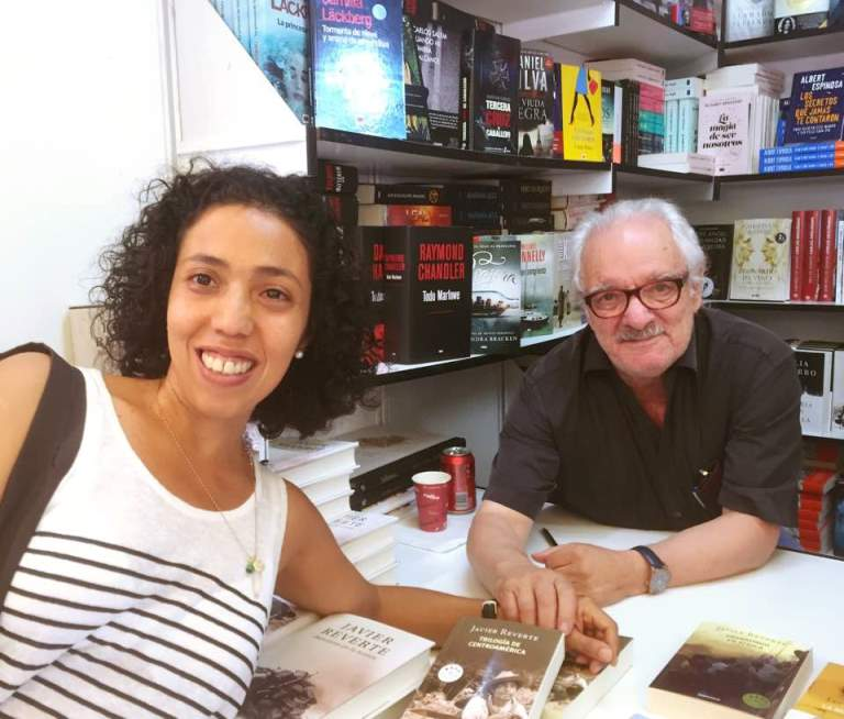 En Madrid con Javier Reverte
